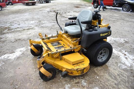 Hustler Super-Z zero-turn mower