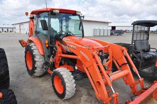 2015 Kubota L4760 MFWD compact tractor