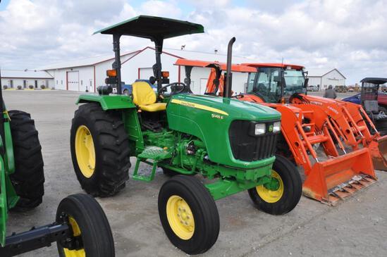 2012 John Deere 5065E 2wd tractor