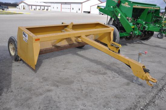 GEI 1004 10' pull-type box blade