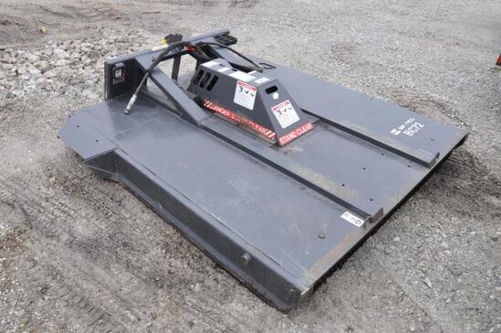 "Bradco BC72 72"" hyd. mower for skidsteer"