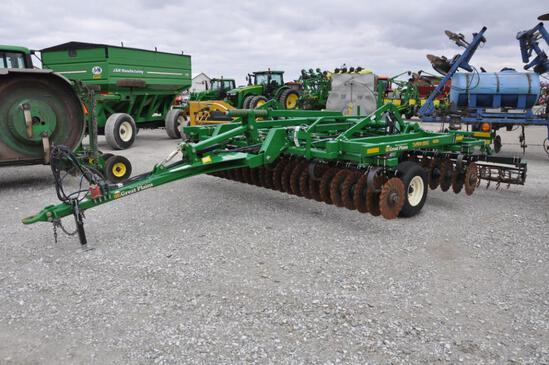 Great Plains 1500TM 15' Turbo Max vertical tillage tool