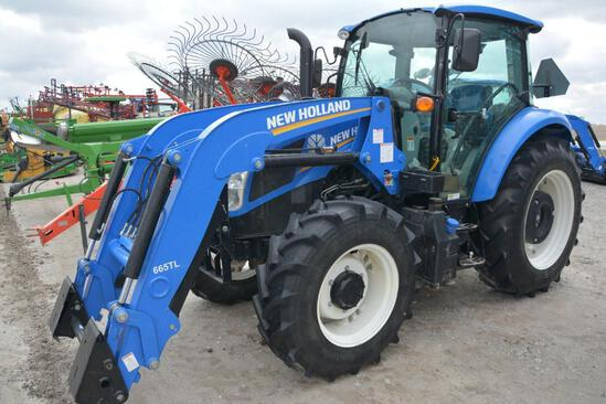 New Holland T4.110 MFWD tractor