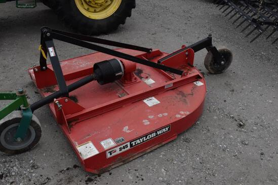 Taylor-Way 245 5' 3-pt. rotary mower