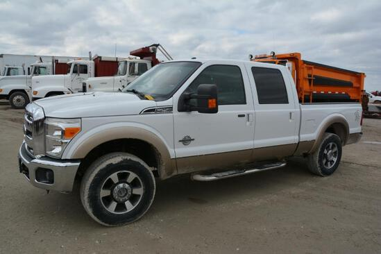 2013 Ford F-250 4wd pickup