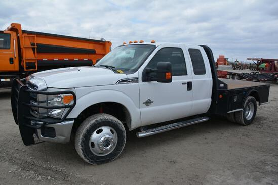 2012 Ford F-350 4wd pickup