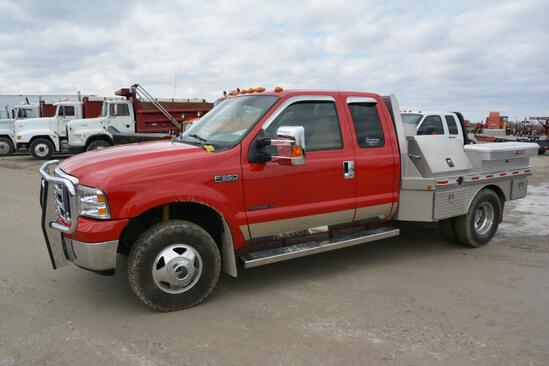 2000 Ford F-350 4wd pickup
