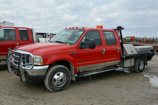 2002 Ford F-350 4wd pickup