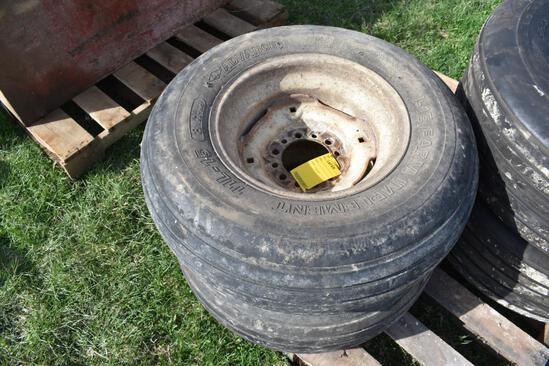 (2) 11L-15 tires on trims