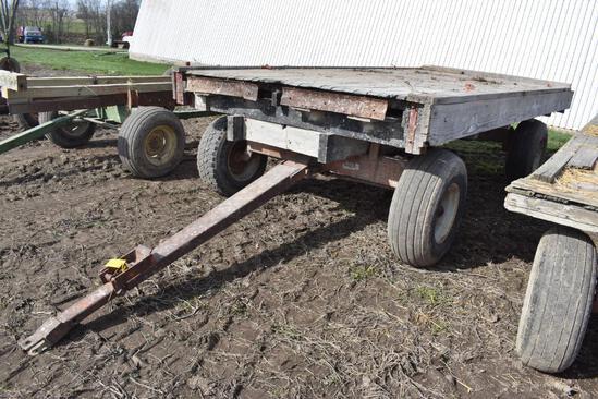 16' x 7.5' rack wagon on Kory 8278 running gear