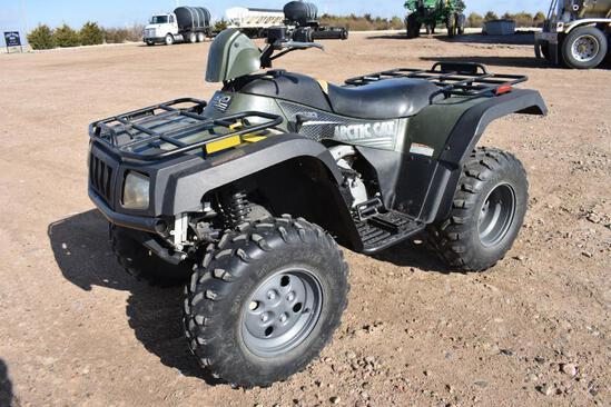 2005 Artic Cat 400 4wd ATV