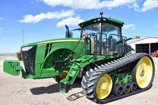 2018 John Deere 8370RT track tractor