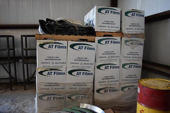 (14) AT Films 10'x300' grain bags