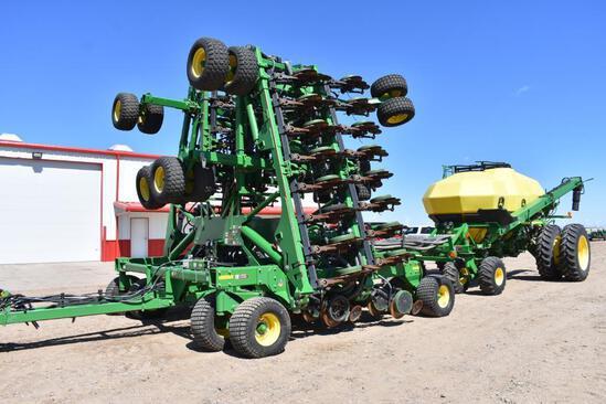 2012 John Deere 1890 60' air drill