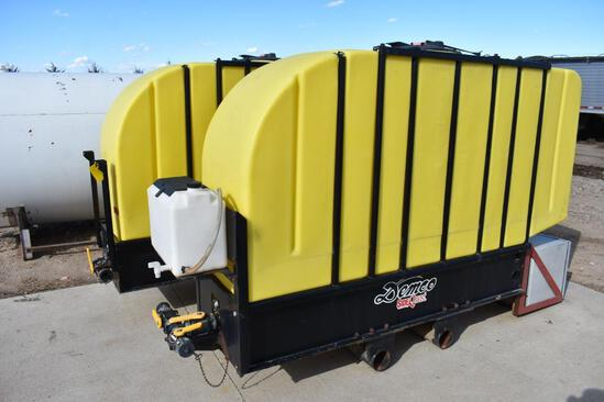 Demco Side Quest 1000 gal. saddle tanks