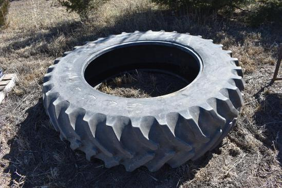 Used GoodYear 18.4R42 tire