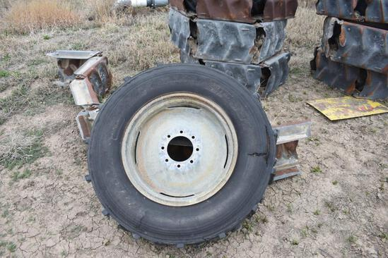 (10) Agri-TRAC irrigation pivot wheels