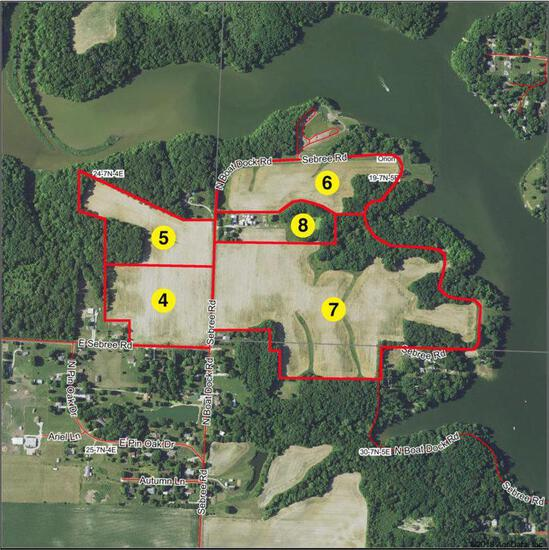 Tract 8 - 8.243 Surveyed Acres (Selling as a lump sum amount)