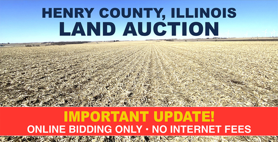 Henry County, Illinois Land Auction