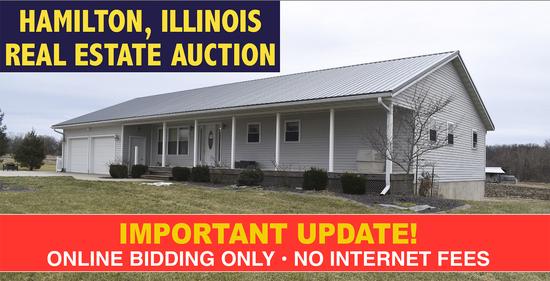 Hamilton, IL Real Estate Auction