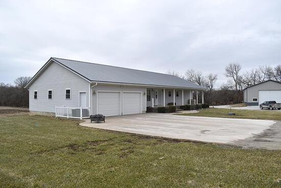 5-bedroom Ranch Style Home situated on 12.81 Surveyed Acres