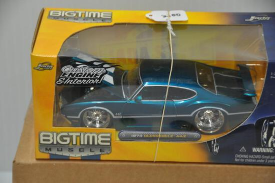 Jada Toys Big Time Muscle 1970 Oldsmobile 442