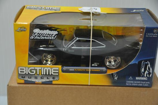 Jada Toys Big Time Muscle 1969 Plymouth Road Runner