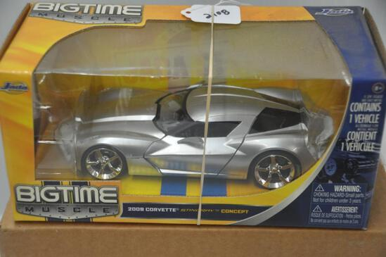 Jada Toys Big Time Muscle 2009 Corvette Stingray Concept