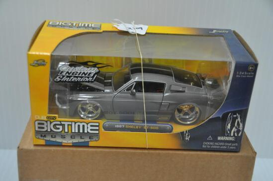 Jada Toys Big Time Muscle 1967 Shelby GT-500