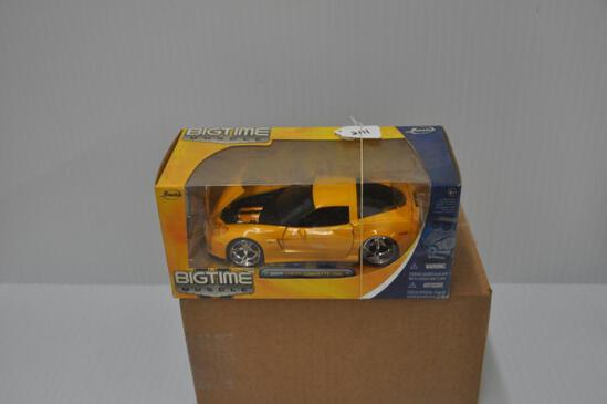 Jada Toys Big Time Muscle 2006 Chevy Corvette Z06