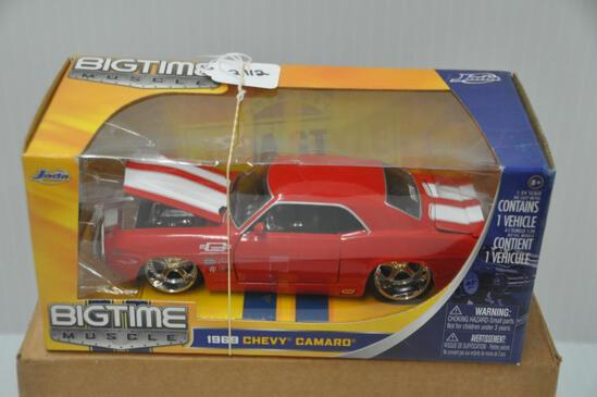 Jada Toys Big Time Muscle 1969 Chevy Camaro