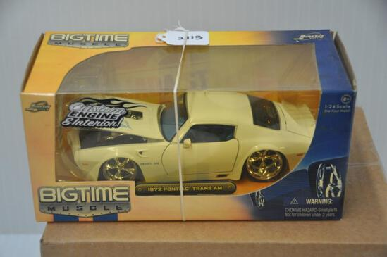 Jada Toys Big Time Muscle 1972 Pontiac Trans Am