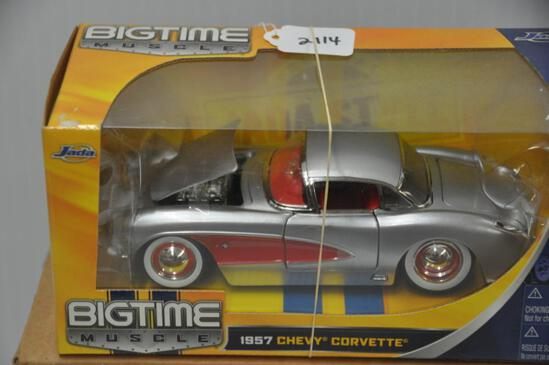 Jada Toys Big Time Muscle 1957 Chevy Corvette