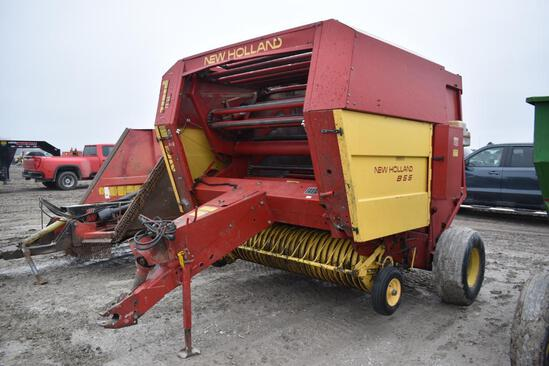 New Holland 855 large round baler
