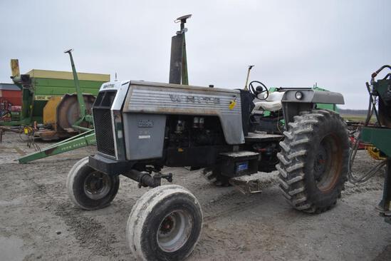 White 2-85 2wd diesel tractor