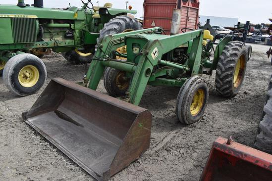 JD 1020 gas tractor