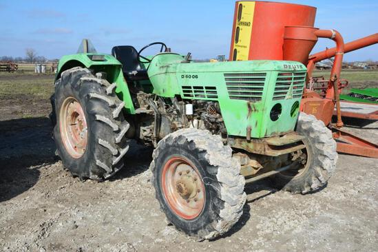 Deutz D6006 diesel tractor
