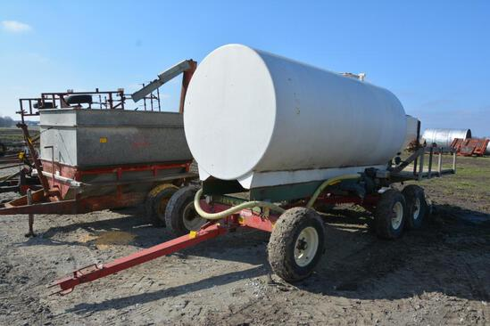 2000 gal. steel tank