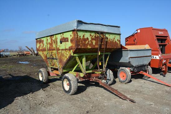 Parker 300 bu. gravity wagon