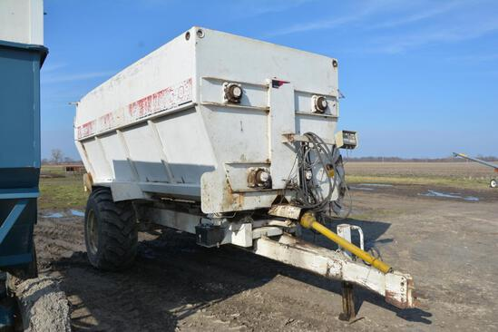 Harsh 540H feed mixer wagon