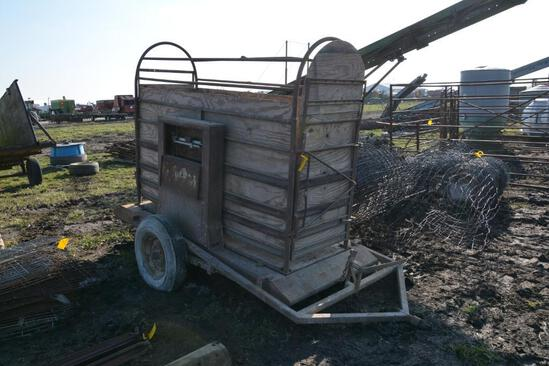 Ranger portable livestock scale