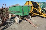Steel flare box wagon