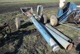 Air Hand shelled corn blower