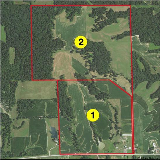 Tract 1 - 158.14 Surveyed Acres