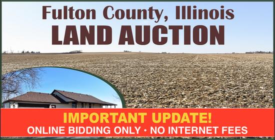 Fulton County, IL Land Auction