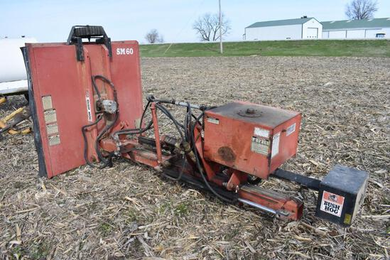 Bush Hog SM60 5' 3-pt. side-mount rotary mower