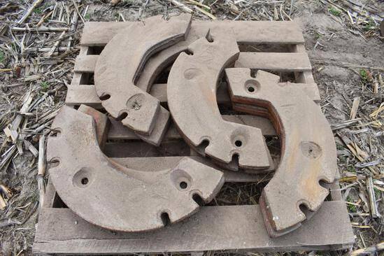 (2) Sets of wheel weights