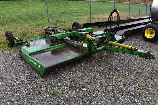 John Deere 1008 10' pull-type rotary cutter