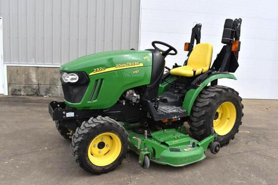 2013 John Deere 2320 MFWD compact utility tractor
