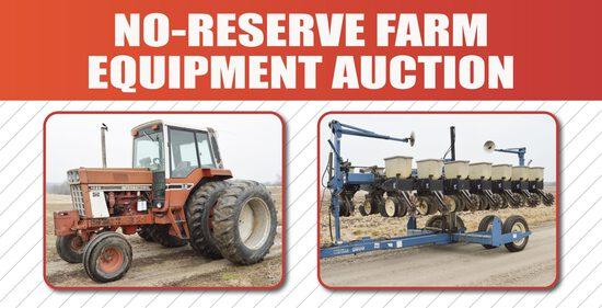 No-Reserve Farm Equipment Auction